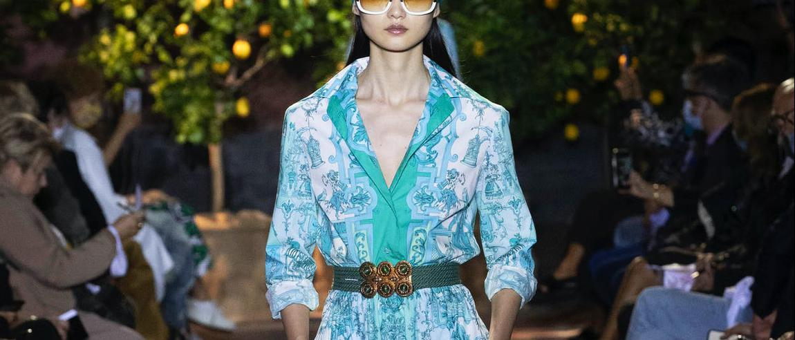 Etro collezione Resort donna primavera estate 2021.
