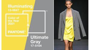 Colori Pantone 2021: Ultimate Grey e Illuminating.