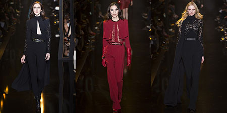 ELIE SAAB AUTUNNO/INVERNO 2016: THE WAY TO THE WOOD