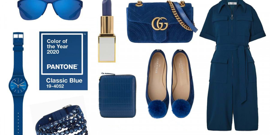 Pantone Classic Blue colore moda primavera estate 2020